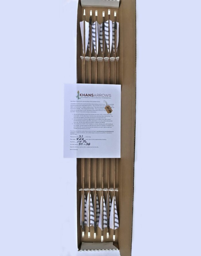 12 white arrows and documents ready to ship